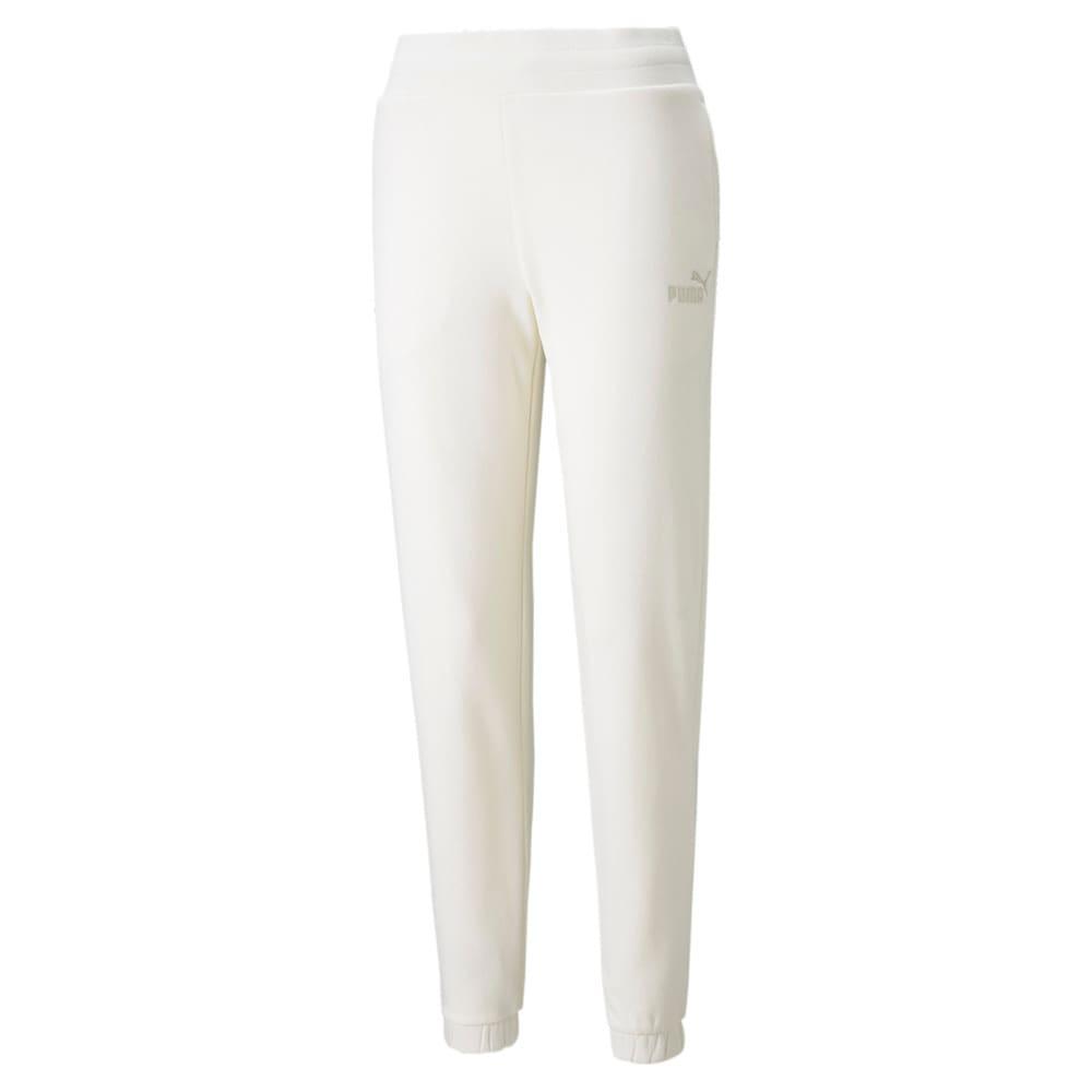Изображение Puma Штаны Essentials+ Embroidered Fleece Women's Pants #1: no color