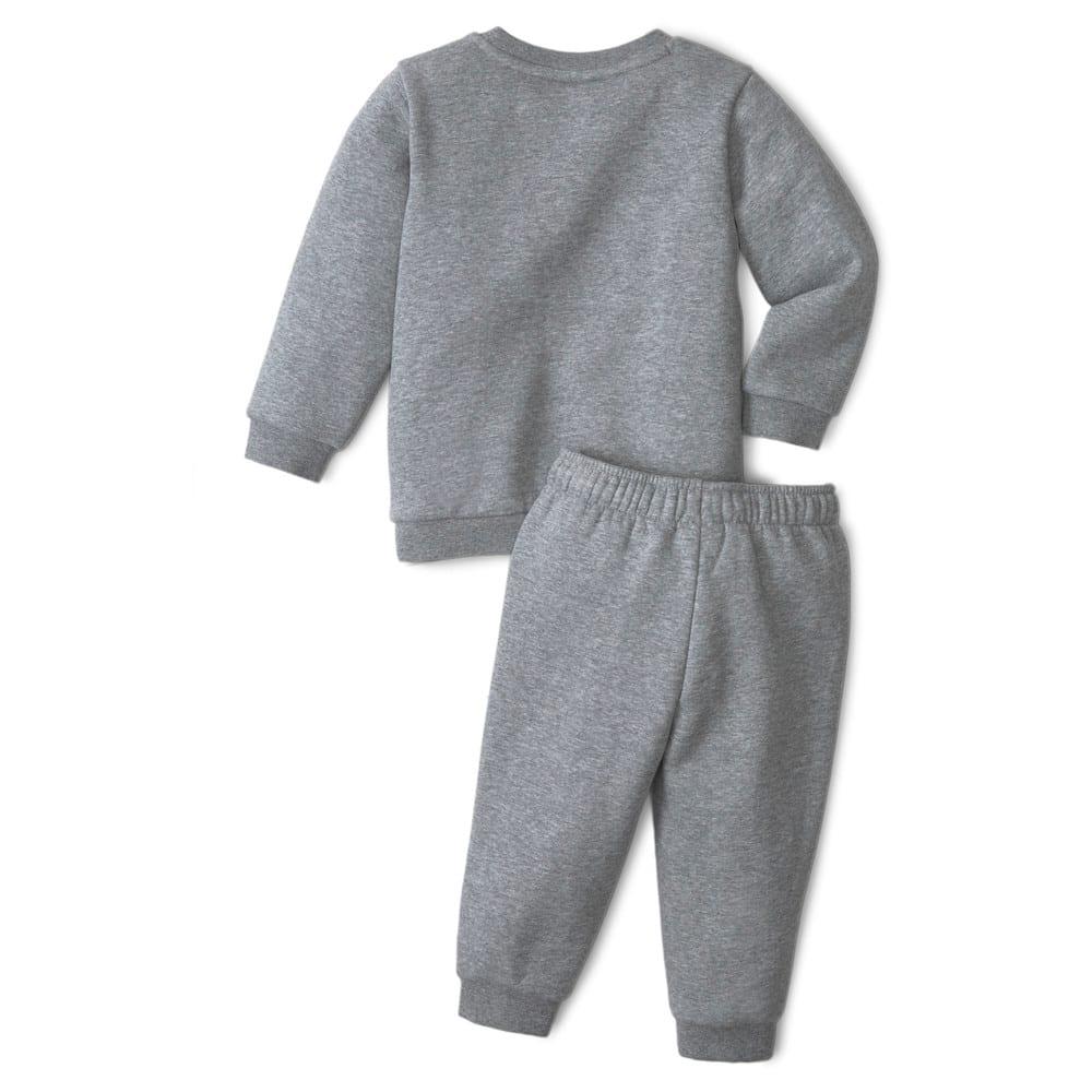 Изображение Puma Детский комплект Essentials Minicats Crew Neck Babies' Jogger Suit #2: Medium Gray Heather