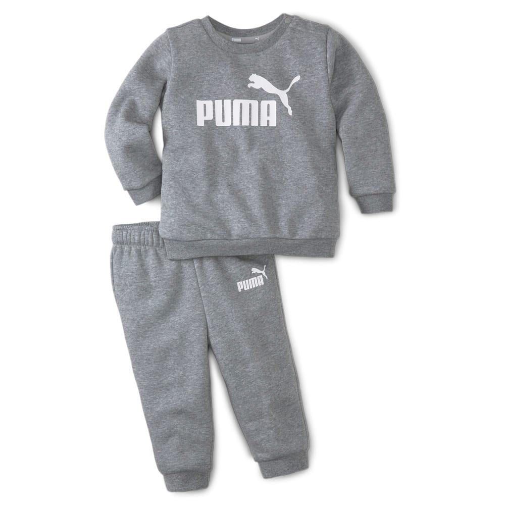 Изображение Puma Детский комплект Essentials Minicats Crew Neck Babies' Jogger Suit #1: Medium Gray Heather