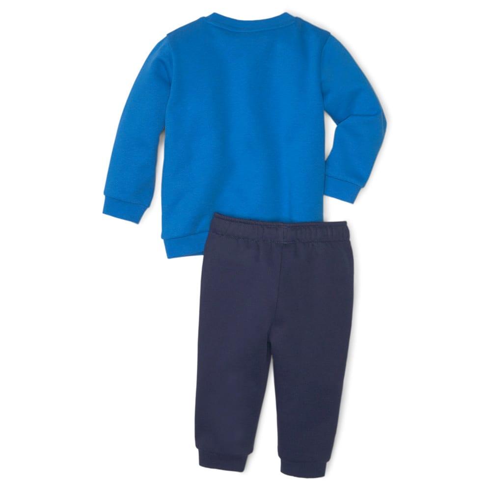 Изображение Puma Детский комплект Essentials Minicats Crew Neck Babies' Jogger Suit #2: Peacoat