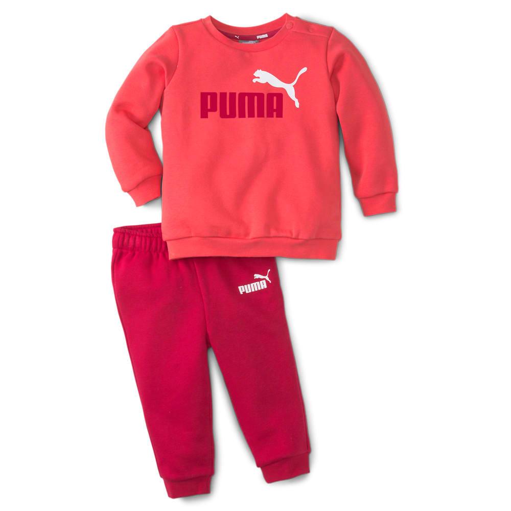 Image Puma Essentials Minicats Crew Neck Babies' Jogger Suit #1