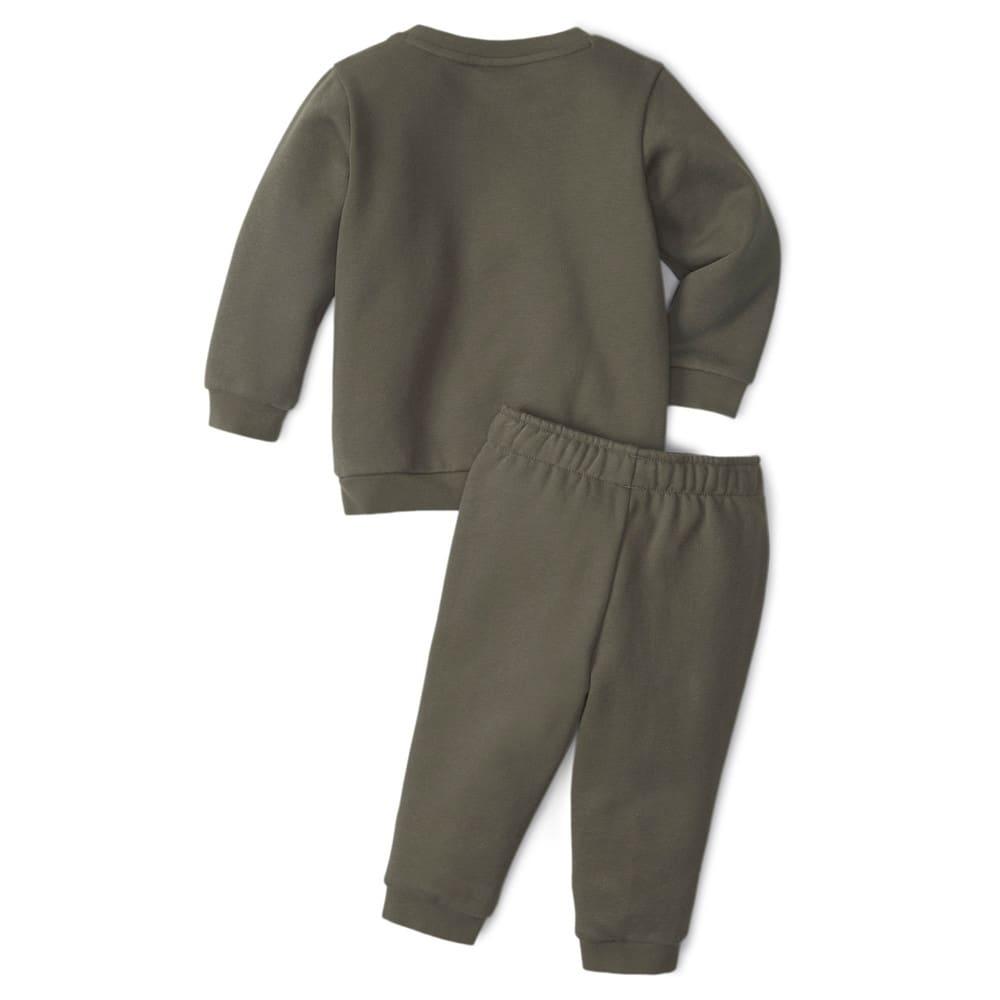 Зображення Puma Дитячий комплект Essentials Minicats Crew Neck Babies' Jogger Suit #2: Grape Leaf