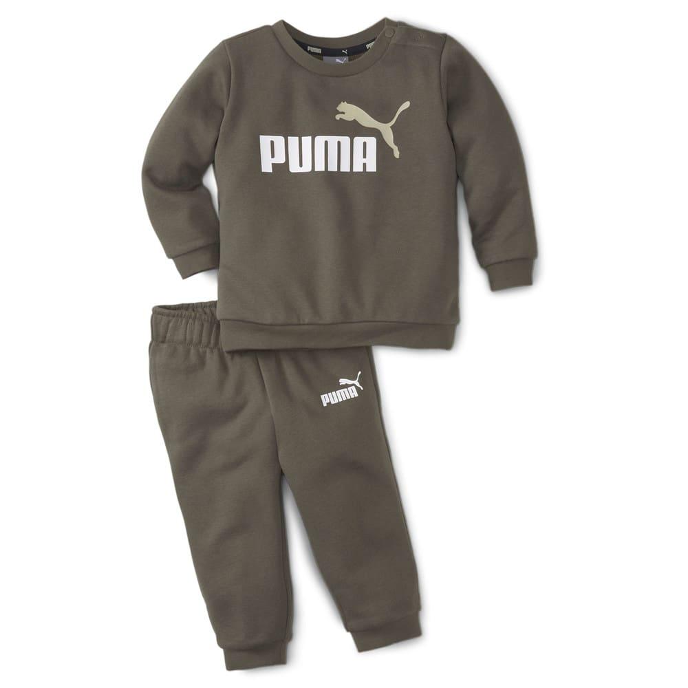 Зображення Puma Дитячий комплект Essentials Minicats Crew Neck Babies' Jogger Suit #1: Grape Leaf