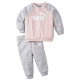 Изображение Puma Детский комплект Minicats Essentials Raglan Babies' Jogger Set