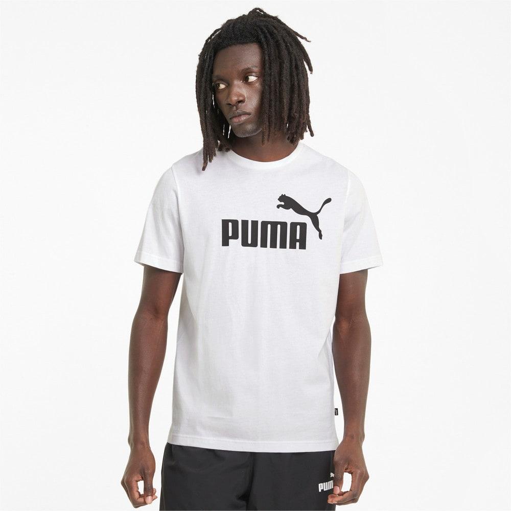 Image PUMA Camiseta Essentials Logo Masculina #1