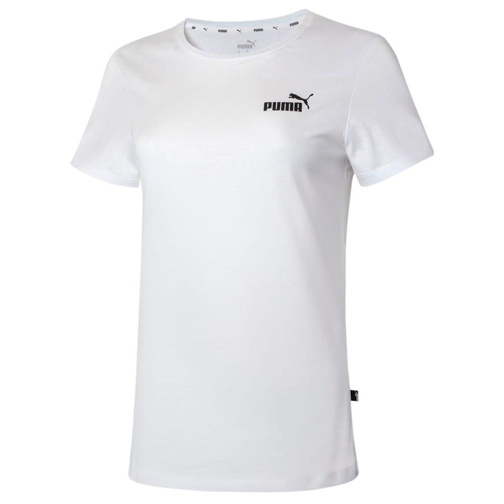 Image PUMA Camiseta Essentials Small Logo Feminina #1