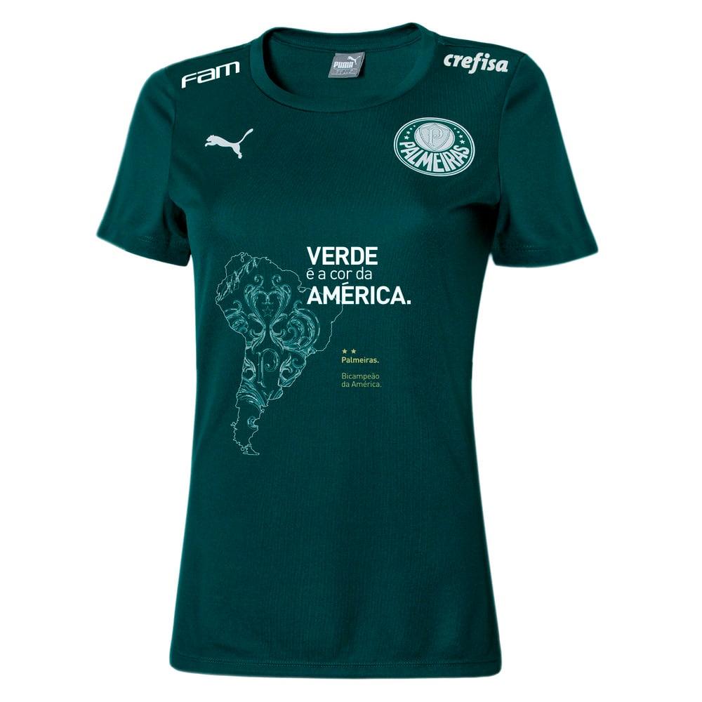 Image PUMA Camisa Palmeiras Comemorativa Feminina #1