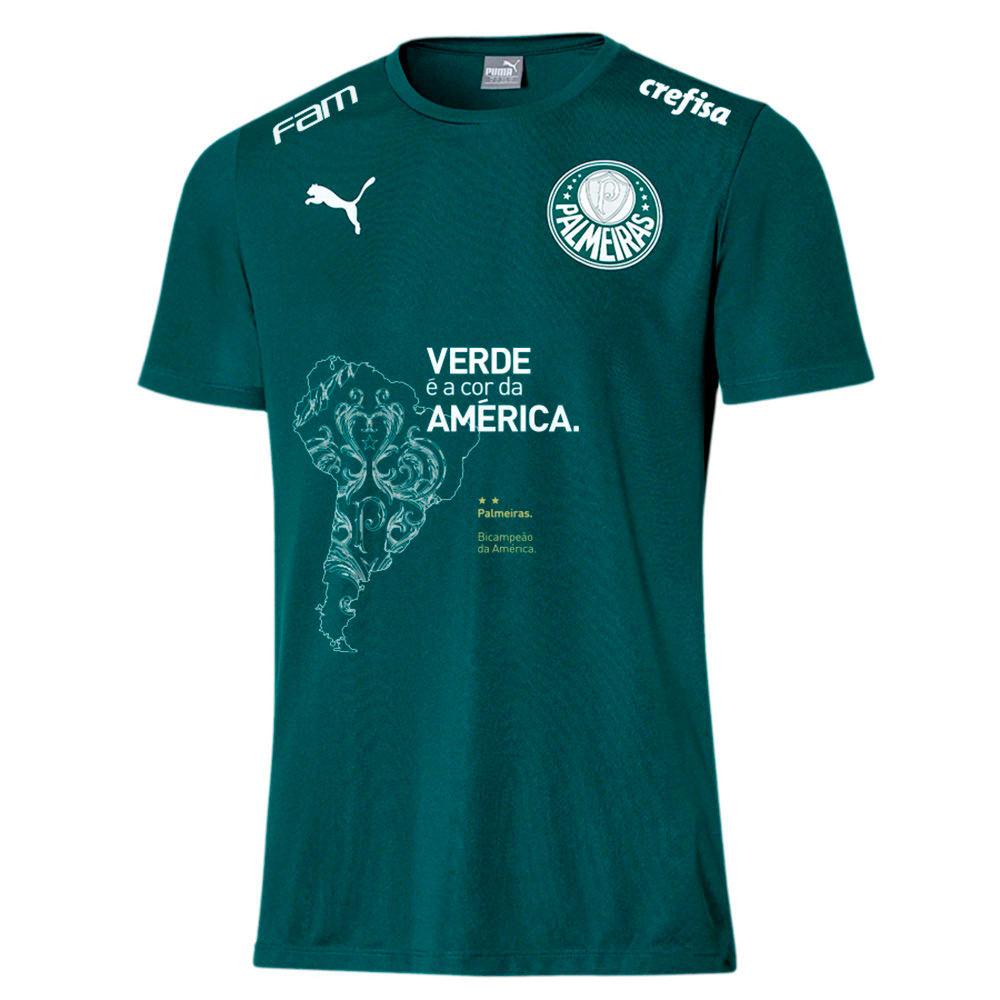 Image PUMA Camisa Palmeiras Comemorativa Juvenil #1