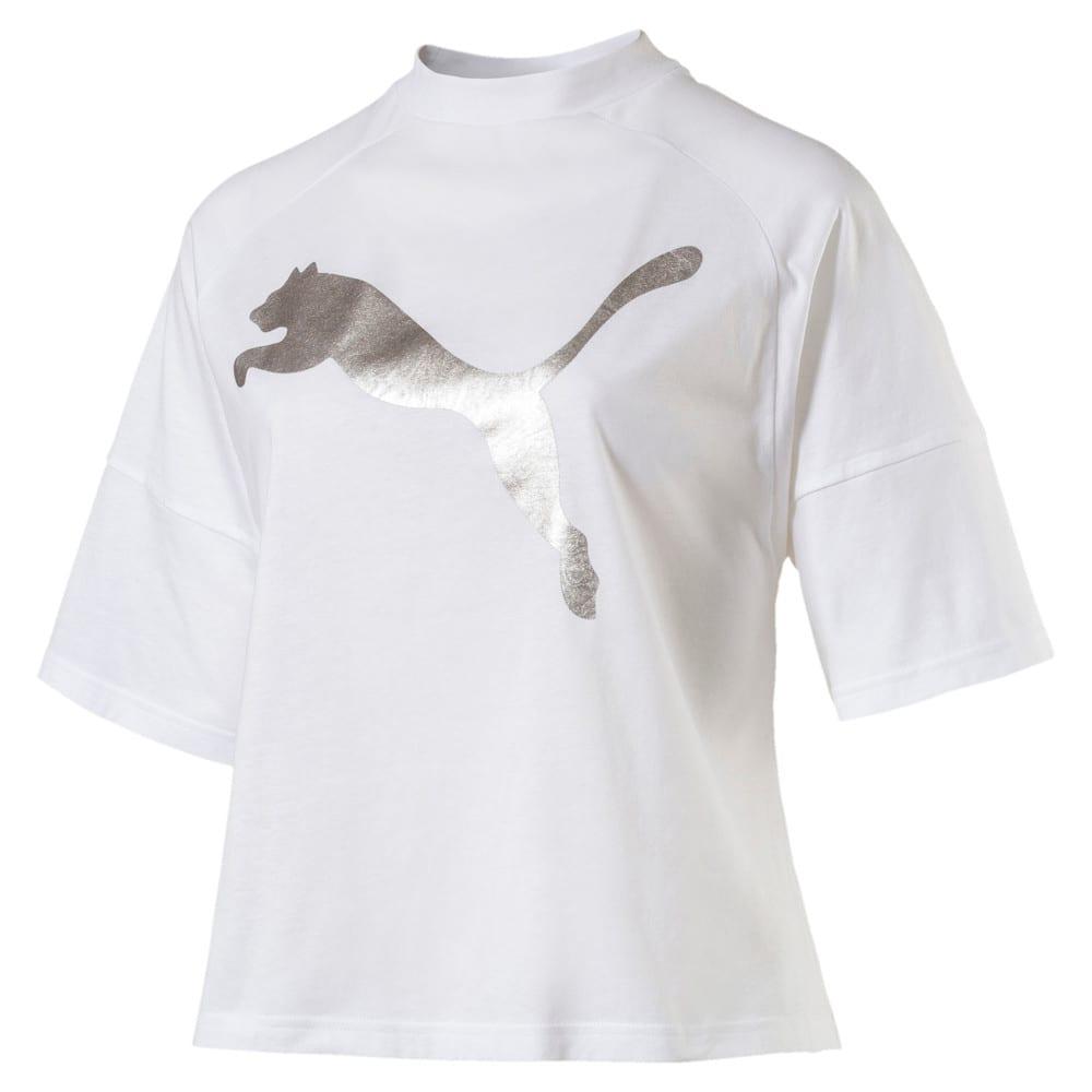 Görüntü Puma FUSION Kısa Kesim Kadın T-Shirt #1