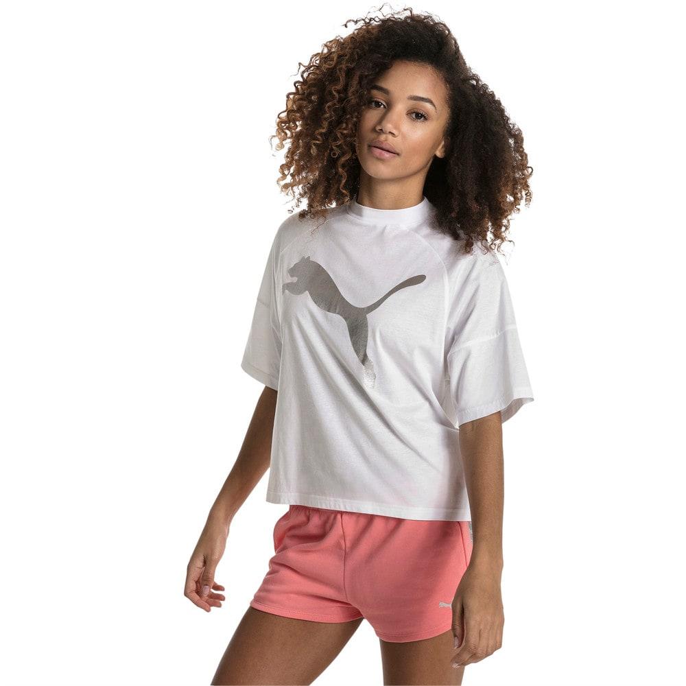 Görüntü Puma FUSION Kısa Kesim Kadın T-Shirt #2