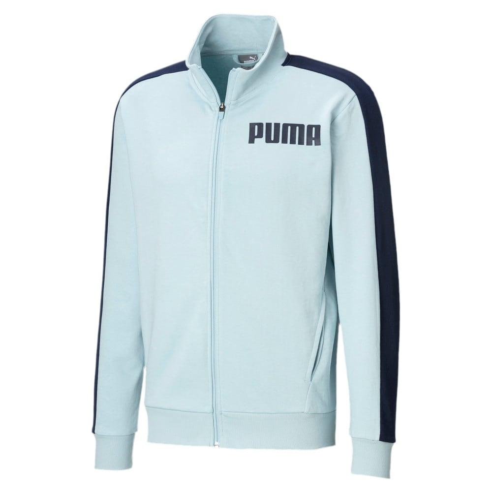Изображение Puma Олимпийка Contrast Track Jacket FT M #1