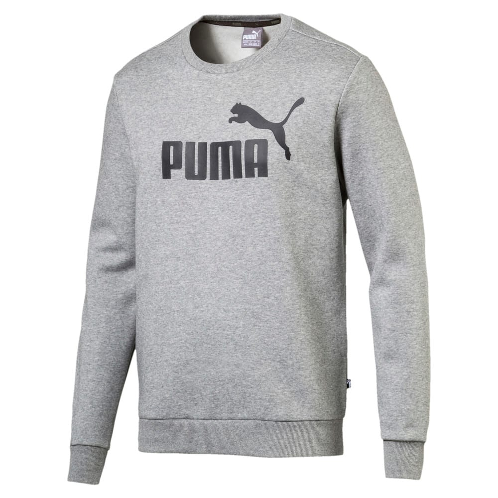 Image PUMA Moletom Essentials Fleece Crew Masculino #1