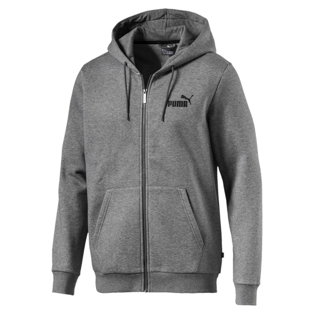 Изображение Puma Толстовка Essentials Fleece Hooded Jacket #1