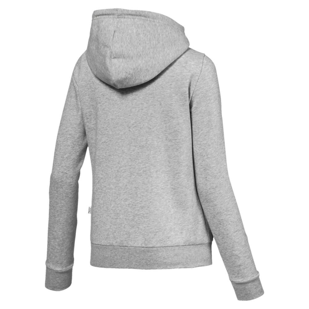 Изображение Puma Толстовка Essentials Fleece Hooded Jkt #2