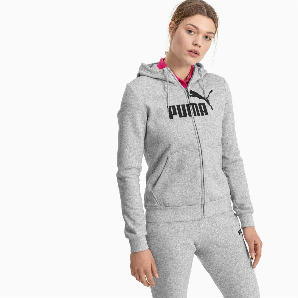 Изображение Puma Толстовка Essentials Fleece Hooded Jkt #1