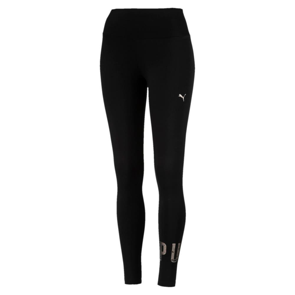 Imagen PUMA Leggings con logotipo Athletic para mujer #1