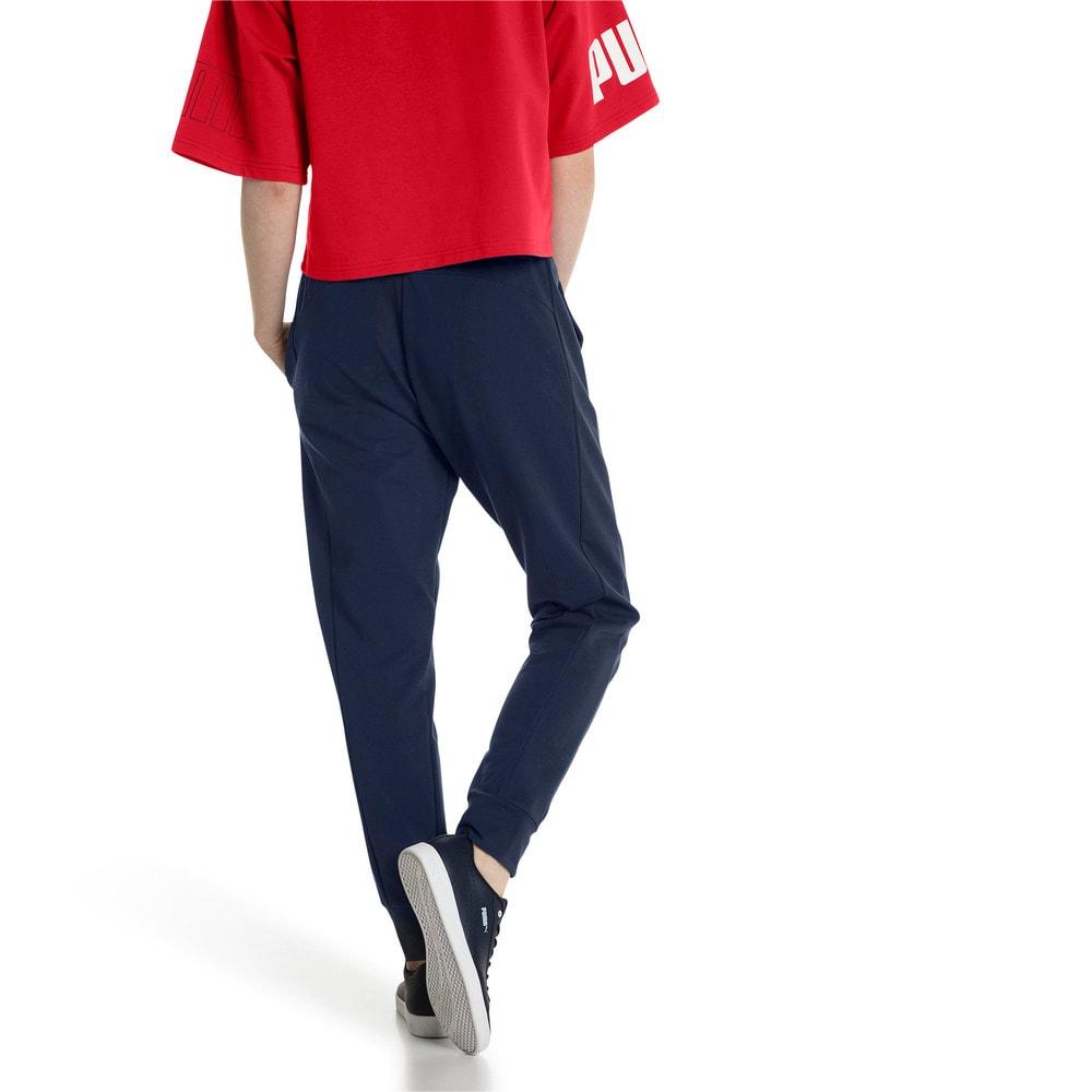 Imagen PUMA Pantalones deportivos de pista modernos para mujer #2