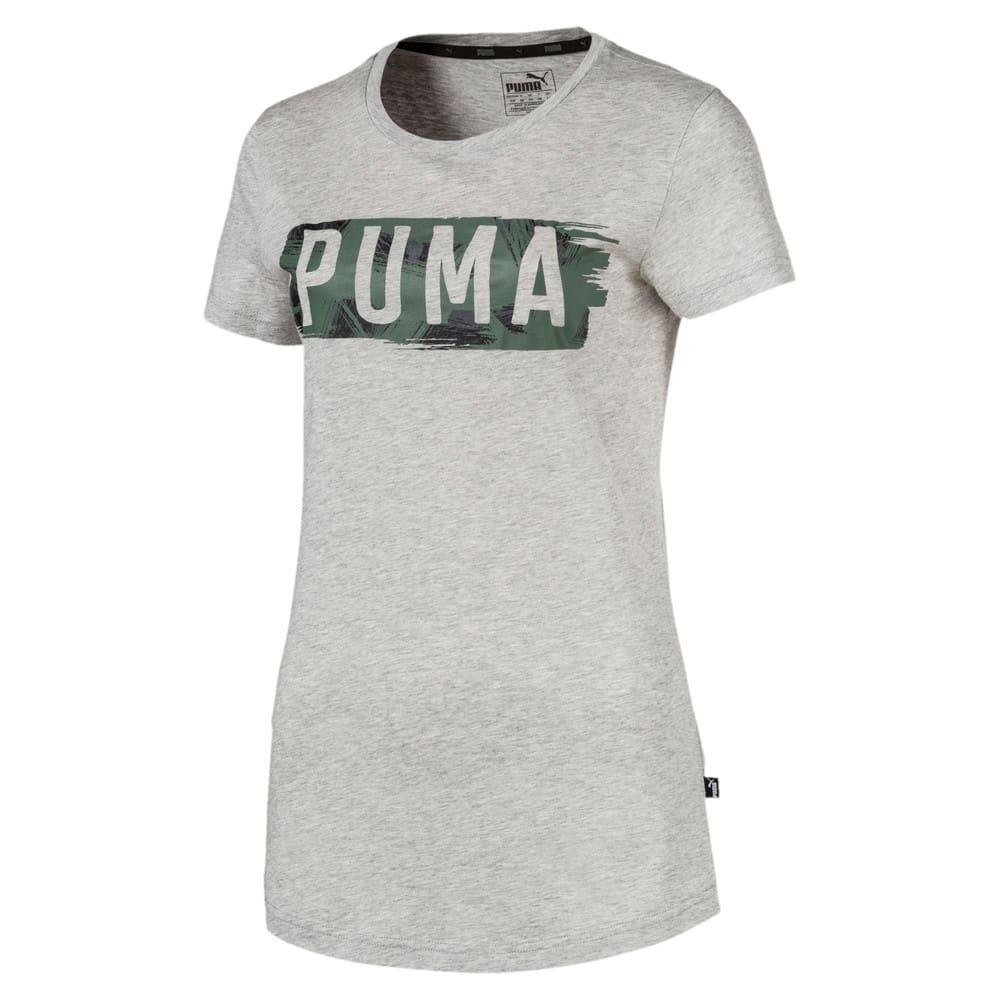 Imagen PUMA Polera con elemento gráfico Fusion para mujer #1