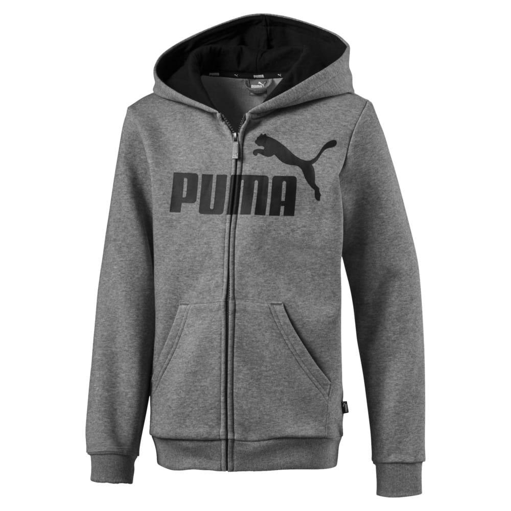Зображення Puma Толстовка Essentials Hooded Jacket B #1