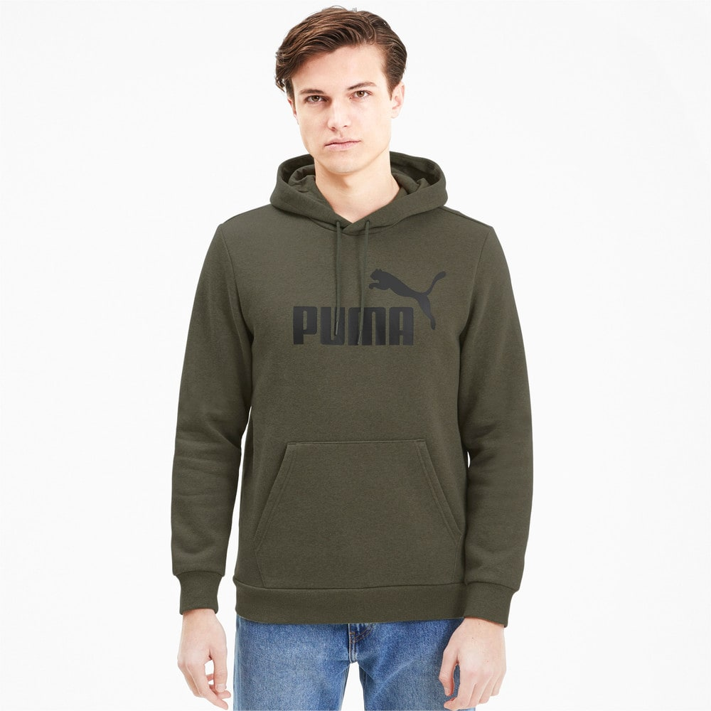 Изображение Puma Толстовка Essentials+ Fleece Hoody #1