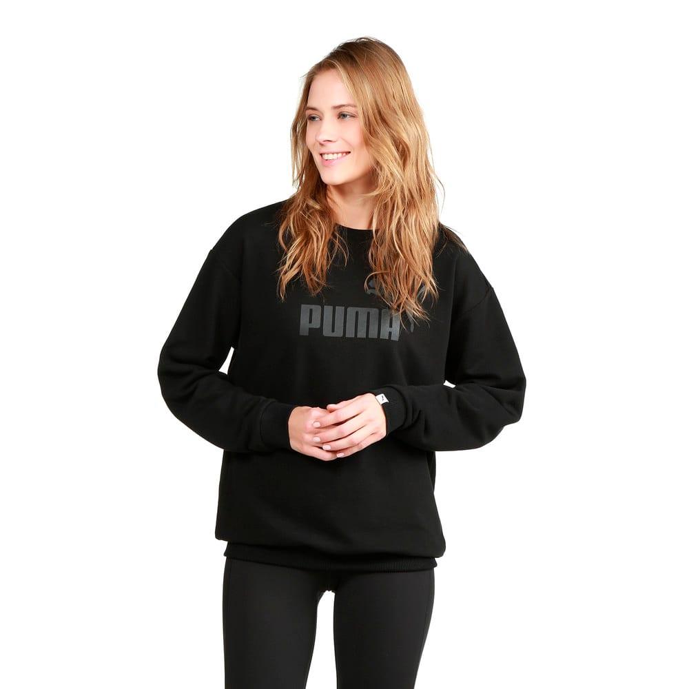 Görüntü Puma ESSENTIAL Logo Crew Kadın Sweatshirt #2