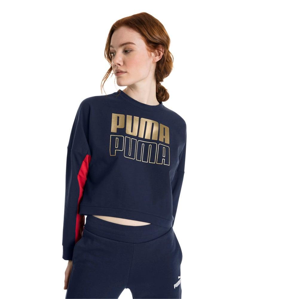 Imagen PUMA Polerón deportivo moderno para mujer #1