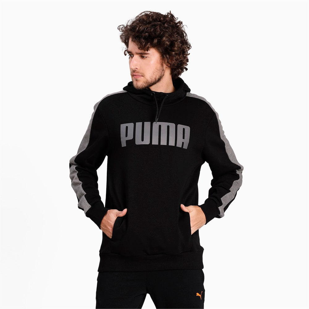 Зображення Puma Толстовка Contrast Hoody FL M #1: Puma Black
