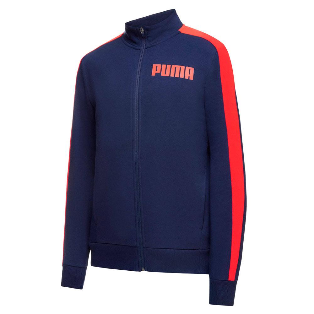 Изображение Puma Олимпийка Contrast Track Jacket FL M #1