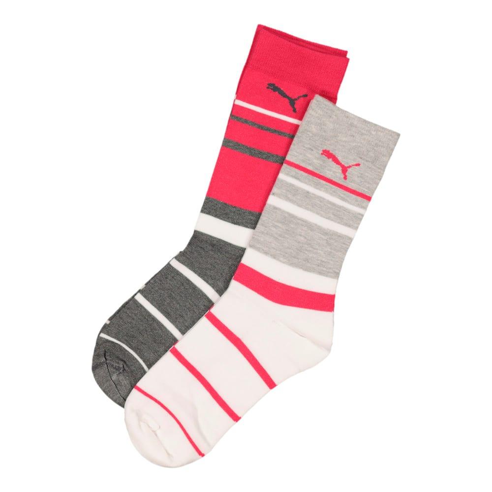 Image Puma Ladies 2 Pack Graphic Anklet Sock #1