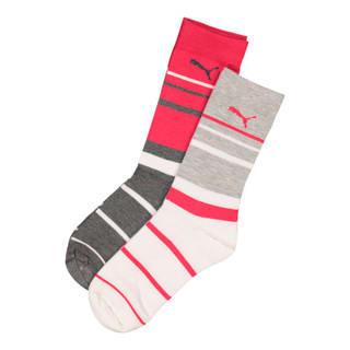 Image Puma Ladies 2 Pack Graphic Anklet Sock