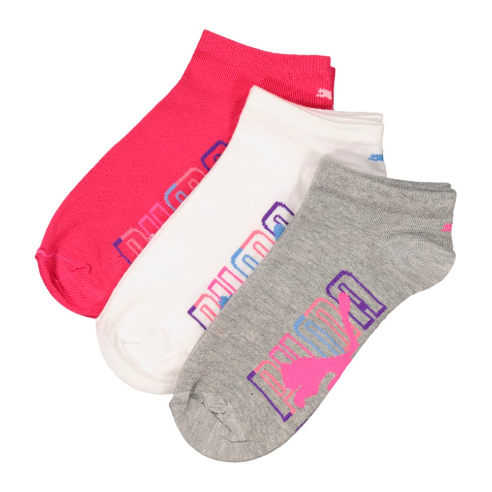 Image Puma Ladies 3 Pack Secret Graphic sock #1
