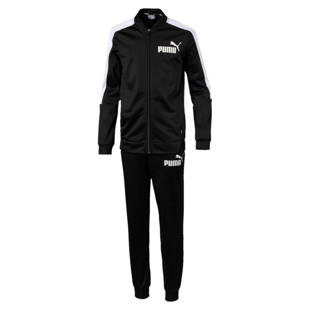 Изображение Puma Спортивный костюм Baseball Collar Boys' Track Suit #1