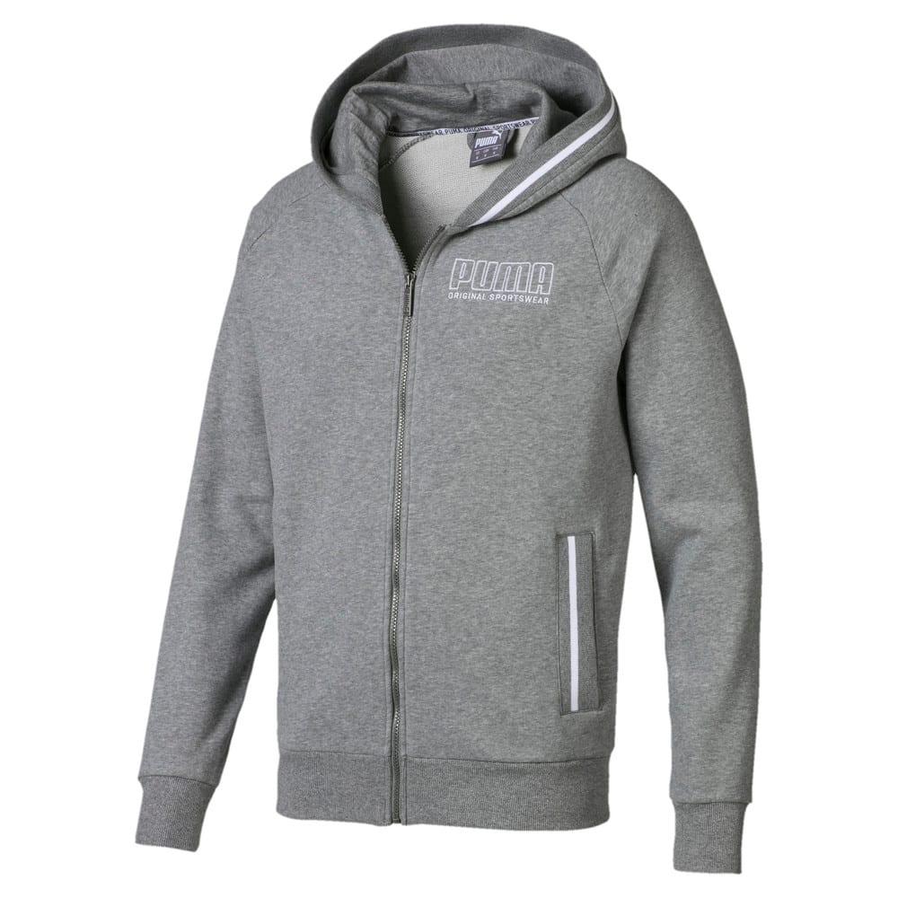 Изображение Puma Толстовка Athletics Hooded Jacket #1