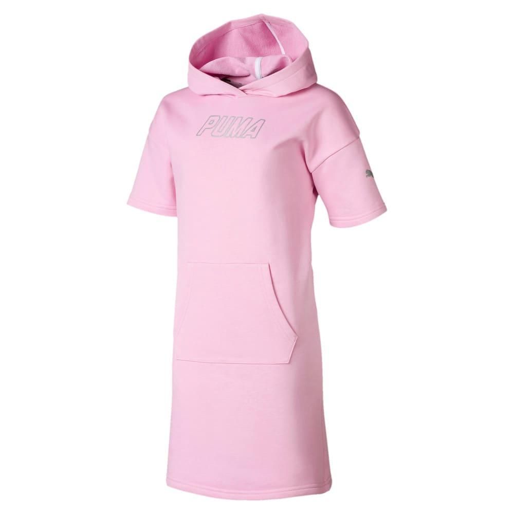Изображение Puma Детское платье Alpha Hooded Sweat Dress #1