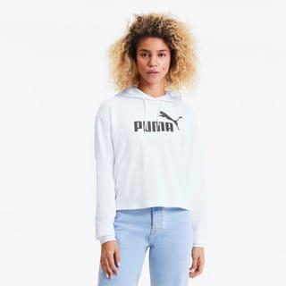 Image PUMA Moletom com Capuz Essentials+ Cropped Feminino