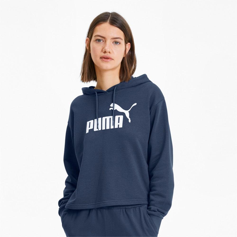 Image PUMA Moletom com Capuz Essentials+ Cropped Feminino #1