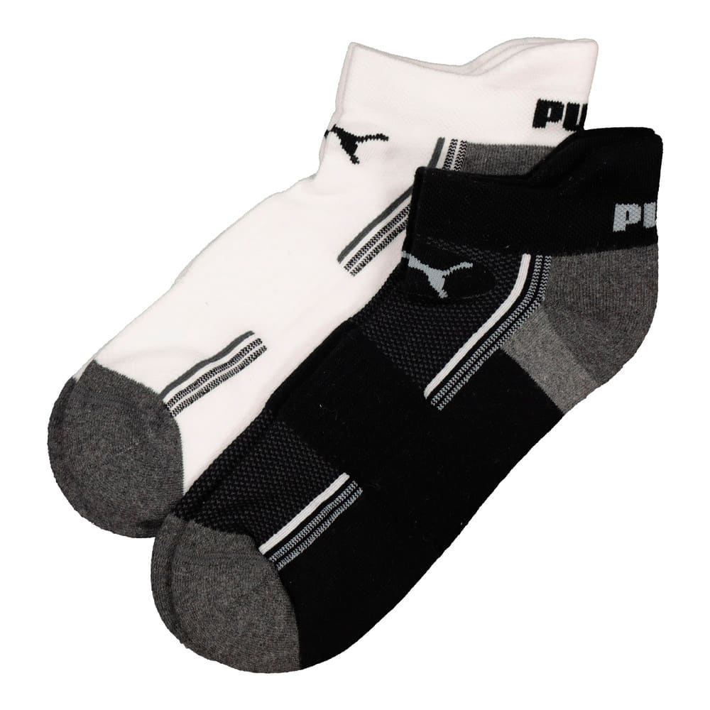 Image Puma Mens 2 Pack Trainer secret sock #1