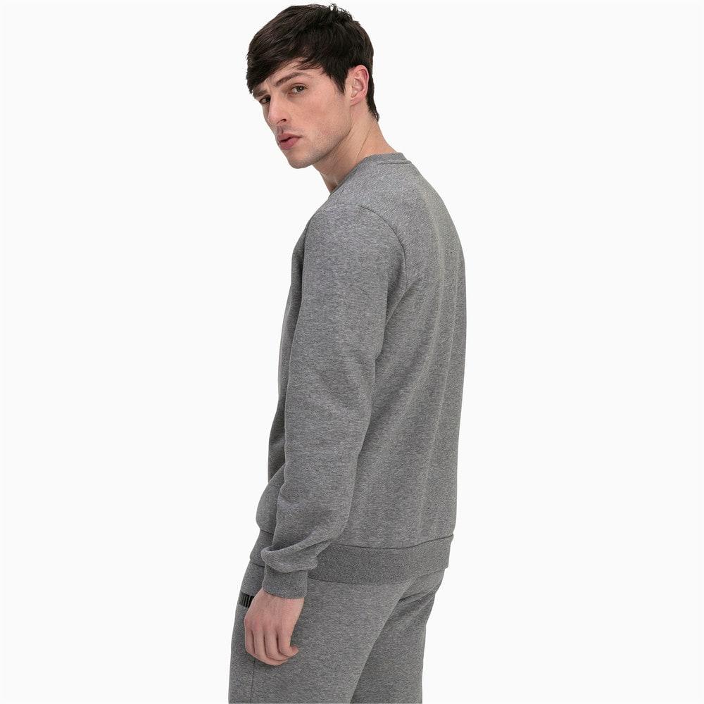Изображение Puma Свитер Essentials Fleece Crew Neck Men's Sweater #2: Medium Gray Heather