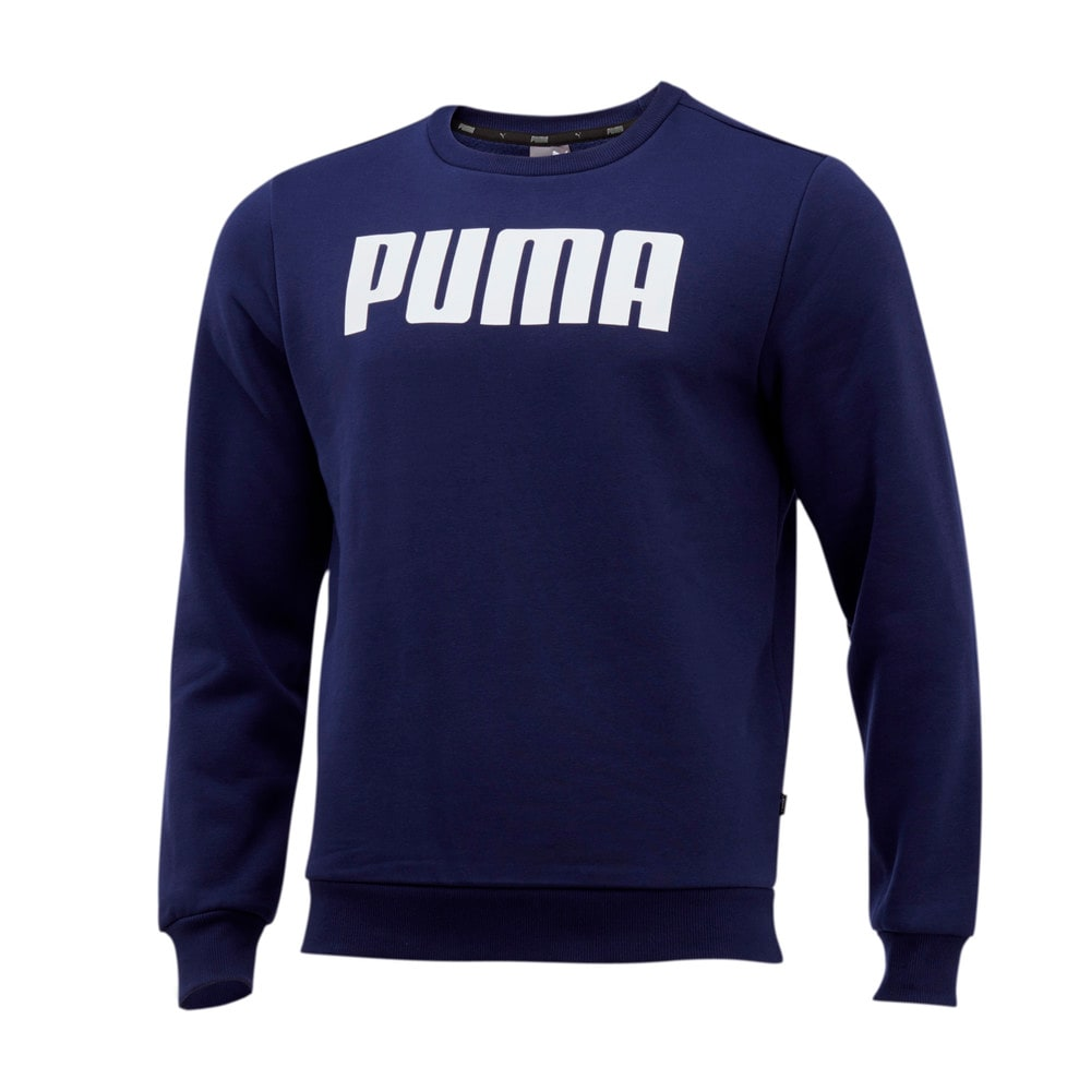 Изображение Puma Свитер Essentials Fleece Crew Neck Men's Sweater #1