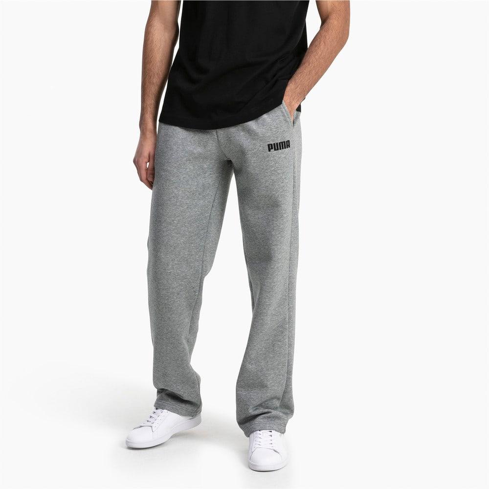 Imagen PUMA Pantalones deportivos de tejido polar para hombre Essentials #1