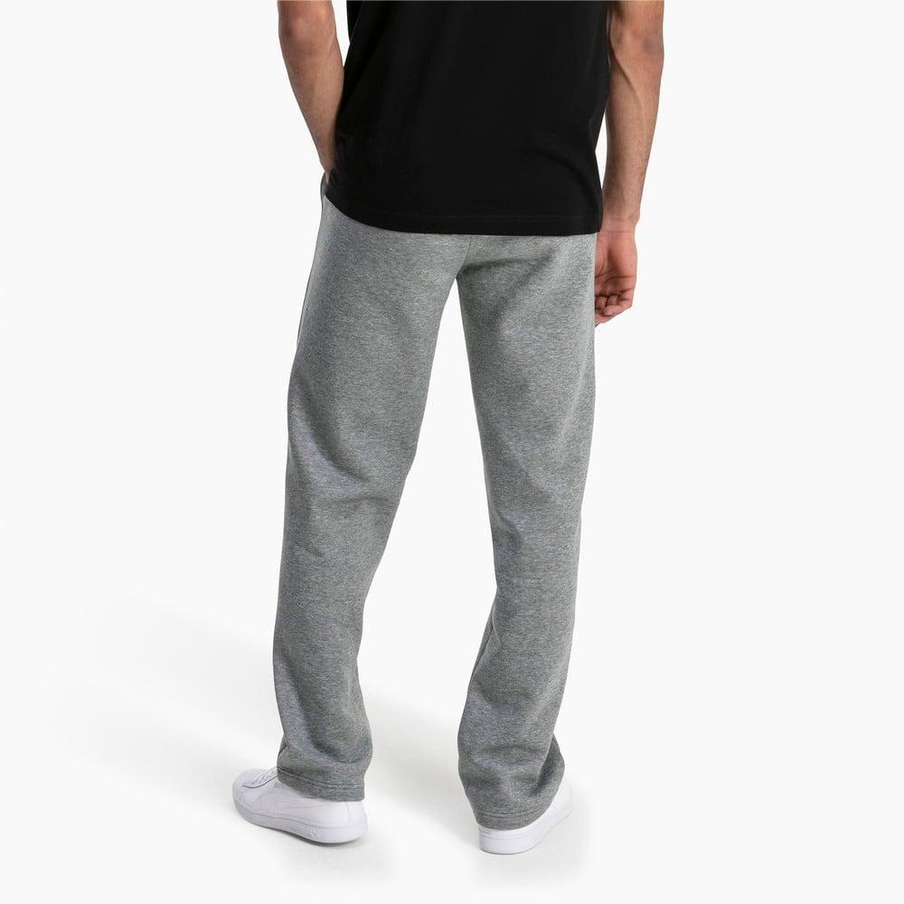 Imagen PUMA Pantalones deportivos de tejido polar para hombre Essentials #2