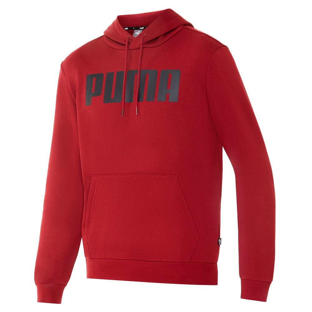 Изображение Puma Толстовка Essentials Fleece Men's Hoodie #1: Pomegranate