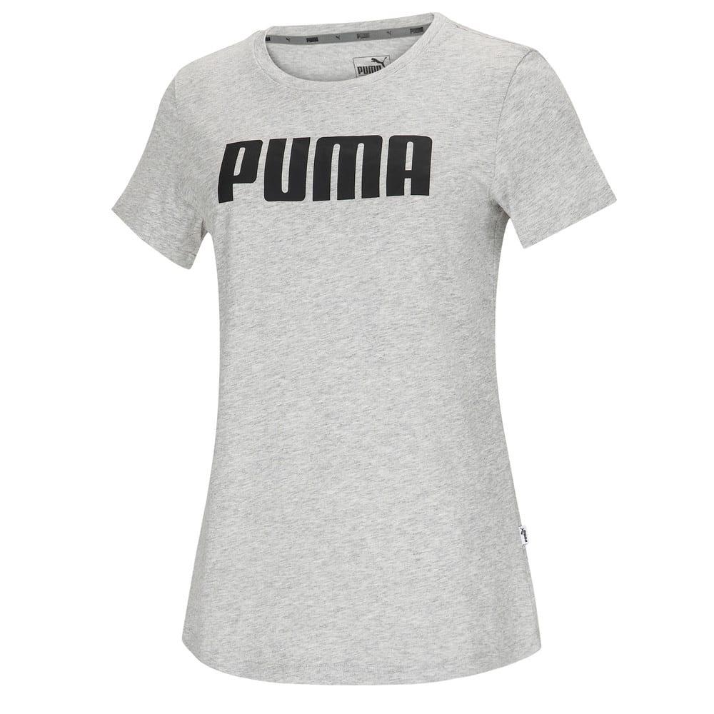 Зображення Puma Футболка ESS PUMA Tee #1: light gray heather