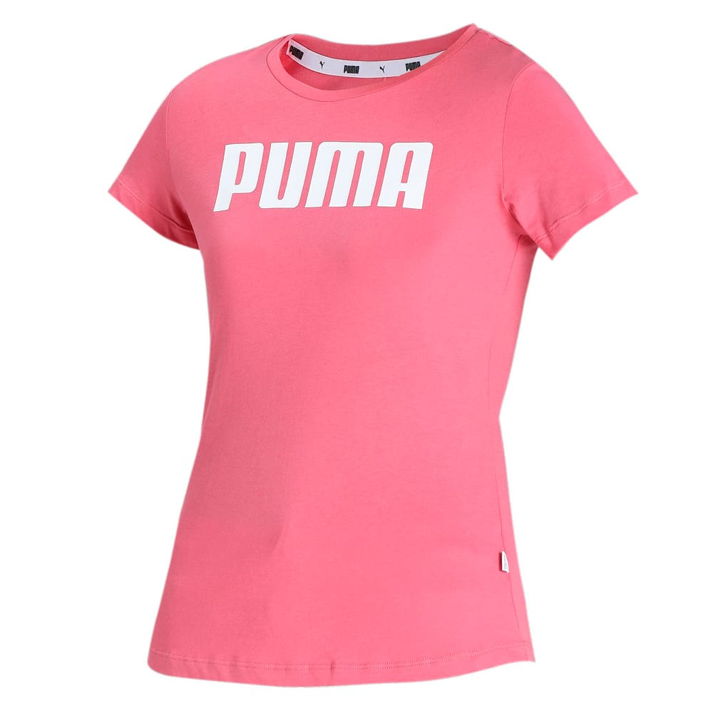 Изображение Puma Футболка ESS PUMA Tee #1: Rapture Rose