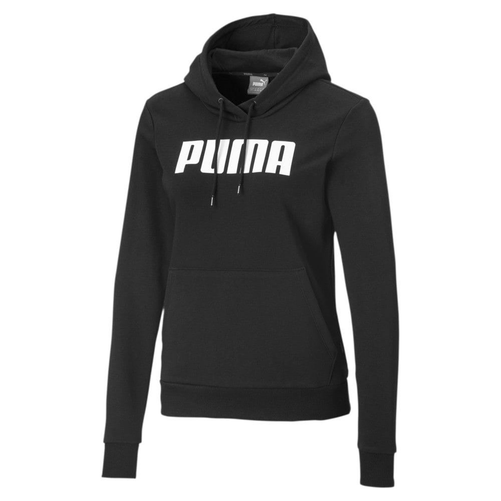 Изображение Puma Толстовка ESS PUMA Hoody TR #1: Cotton Black