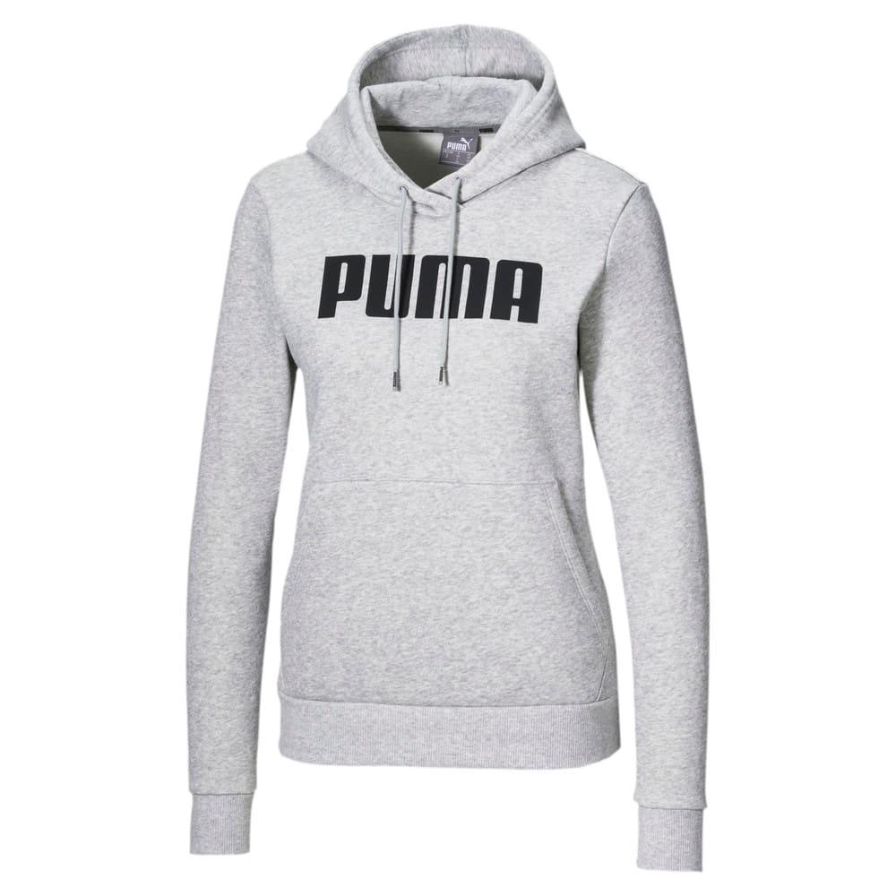 Imagen PUMA Polerón con capucha Essentials Fleece para mujer #1