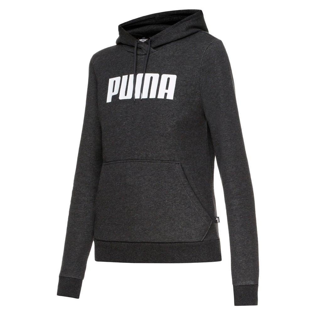 Изображение Puma Толстовка ESS PUMA Hoody FL #1: Dark Gray Heather
