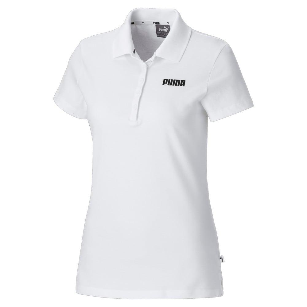 Изображение Puma Рубашка поло Essentials Women's Polo #1