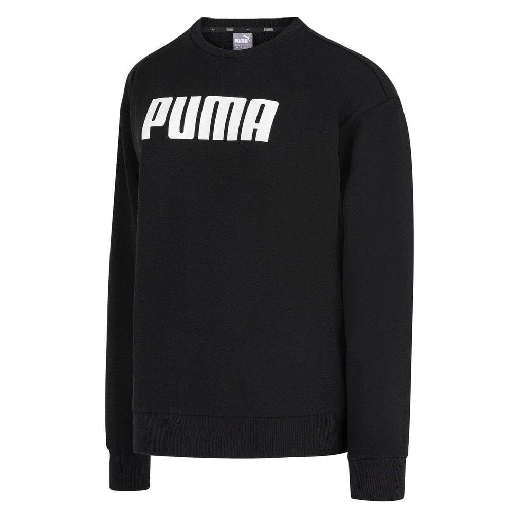 Изображение Puma Толстовка ESS PUMA Crew Sweat TR #1: Cotton Black