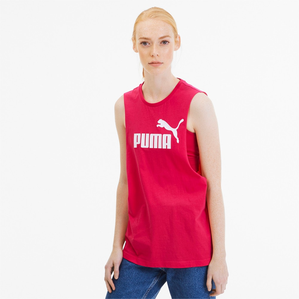 Изображение Puma Майка Essentials+ Cut Off Tank #1